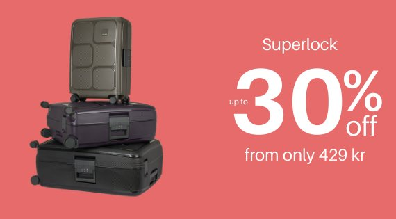 Superlock up to 30% off