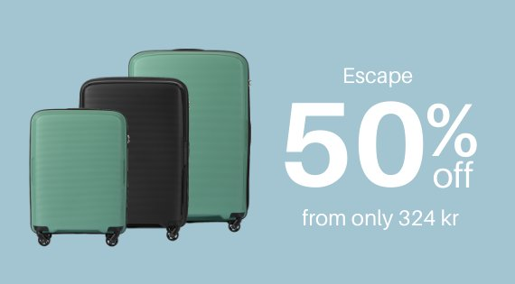 Escape 50% off