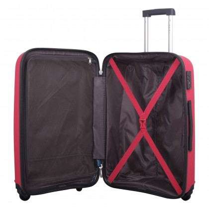 Tripp raspberry 'Holiday 6' medium 4 wheel suitcase