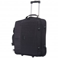 Tripp black 'Holiday Bags' 2 wheel cabin duffle