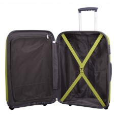 Tripp lime II 'Holiday 5' cabin 4 wheel suitcase