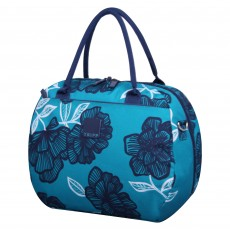 Tripp turquoise/navy 'Bloom' holdall