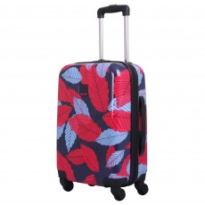 Tripp denim blue/poppy 'Leaf Hard' cabin 4w suitcase