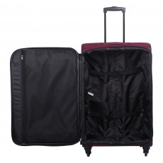 Tripp scarlet 'Full Circle' medium 4-wheel suitcase