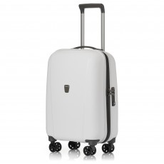 Tripp white 'Ultimate Lite II ' cabin 4 wheel suitcase