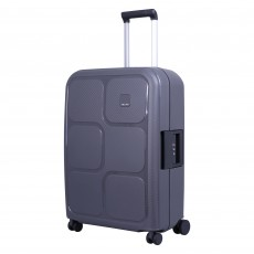 "Tripp graphite ""Superlock II"" medium 4 wheel suitcase"