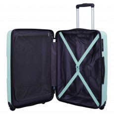 Tripp Aqua 'World' Medium 4 Wheel Suitcase