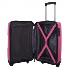 Tripp Posey 'World' Large 4 Wheel Suitcase