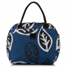 Tripp Denim/Sort 'Bold Leaf' Holdall