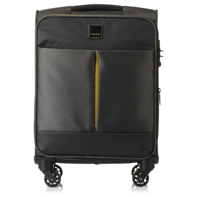 Tripp graphite 'Style Lite' cabin 4-W exp suitcase - Stofkufferter | Tripp Denmark