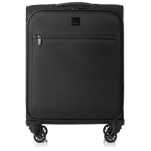 Full Circle Cabin 4 wheel Suitcase 55cm BLACK