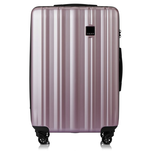 Retro Medium 4 wheel Suitcase 69cm BLUSH