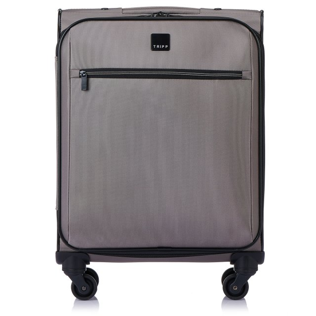 Full Circle Cabin 4 wheel Suitcase 55cm SILVER